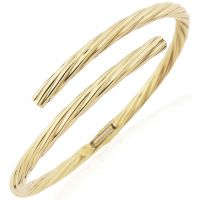 Jewellery Oval Section Tubing Crossover Bangle