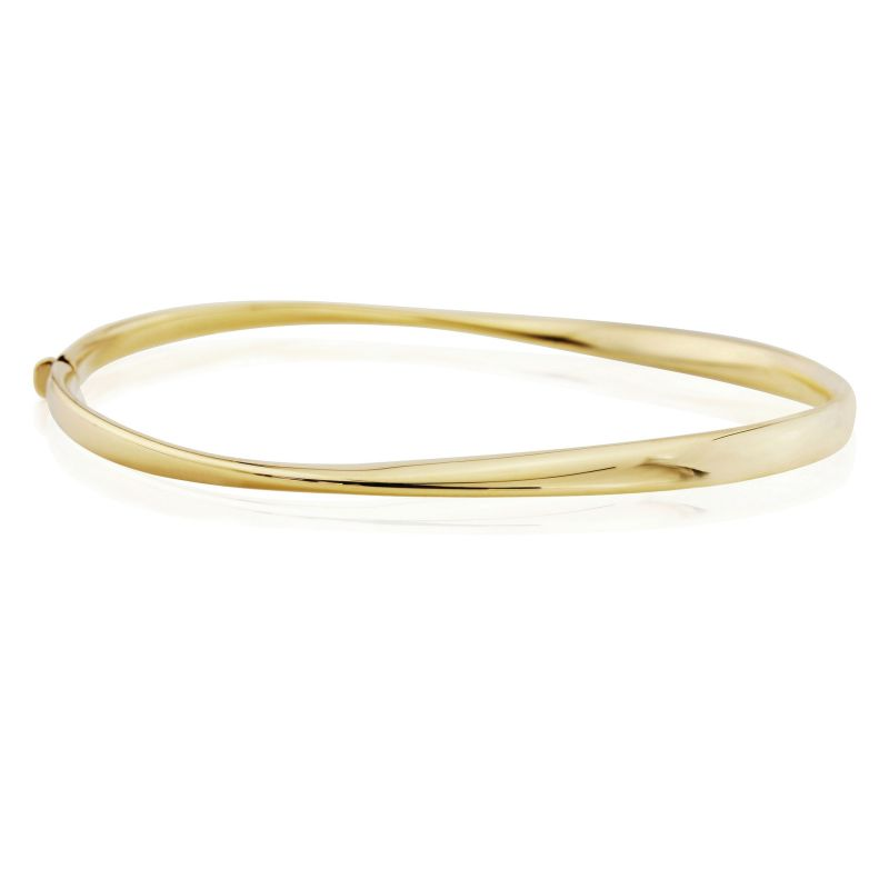Jewellery Polished Twist bangle