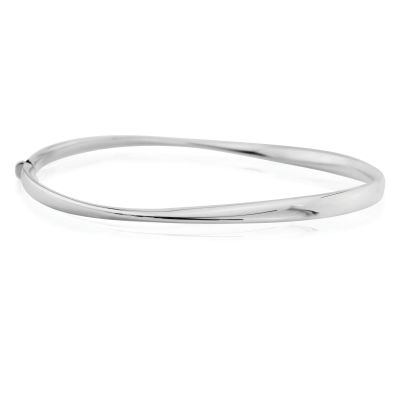 Bijoux Jewellery Polished Twist Bracelet