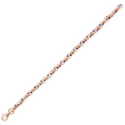 Bijoux Jewellery Fancy Link Bracelet 7.25 inches/19cm