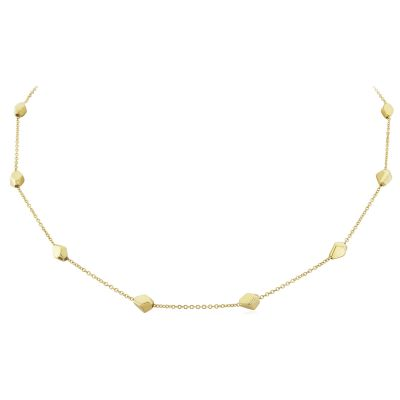 Bijoux Jewellery Faceted Motif Collier 18 inches/45cm