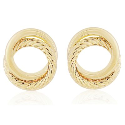 Jewellery 9ct Gold Fancy Stud Earrings