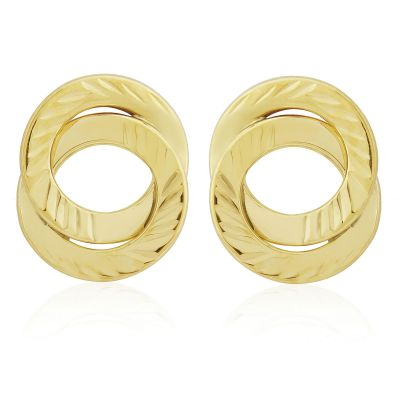 Jewellery 9ct Gold Fancy Studs