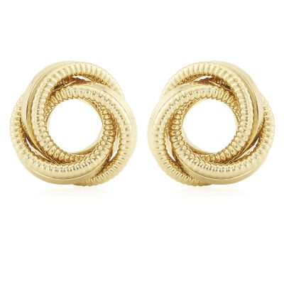 Jewellery Knot Ohrringe 9 Karat Gold