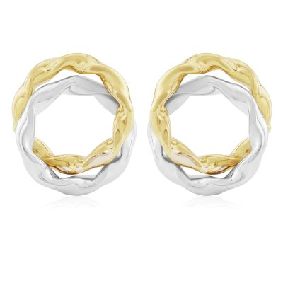 Jewellery Fancy Stud Ohrringe 9 Karat Gold