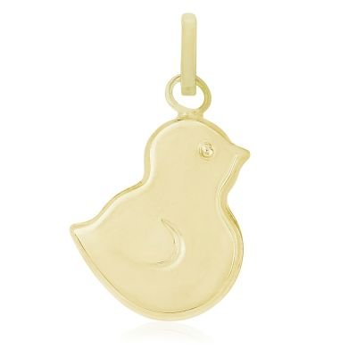 Jewellery Baby Chick Charm 9 Karat Gold