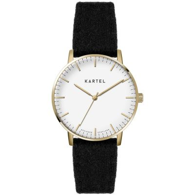 Ladies Kartel Scotland Lewis 34mm Cashmere Watch KT-LEW34-GWB