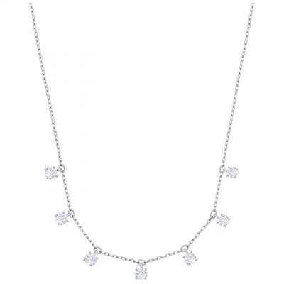 Swarovski Dam Attract Choker Necklace Silverpläterad 5367966
