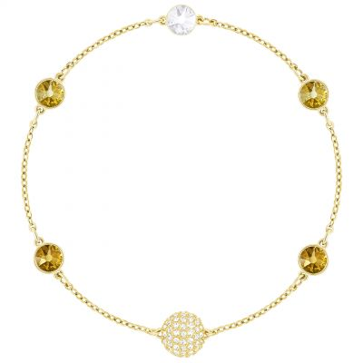 Ladies Swarovski Gold Plated Remix Bracelet 5403221