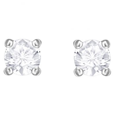 Ladies Swarovski Silver Plated Attract Stud Earrings 5408436