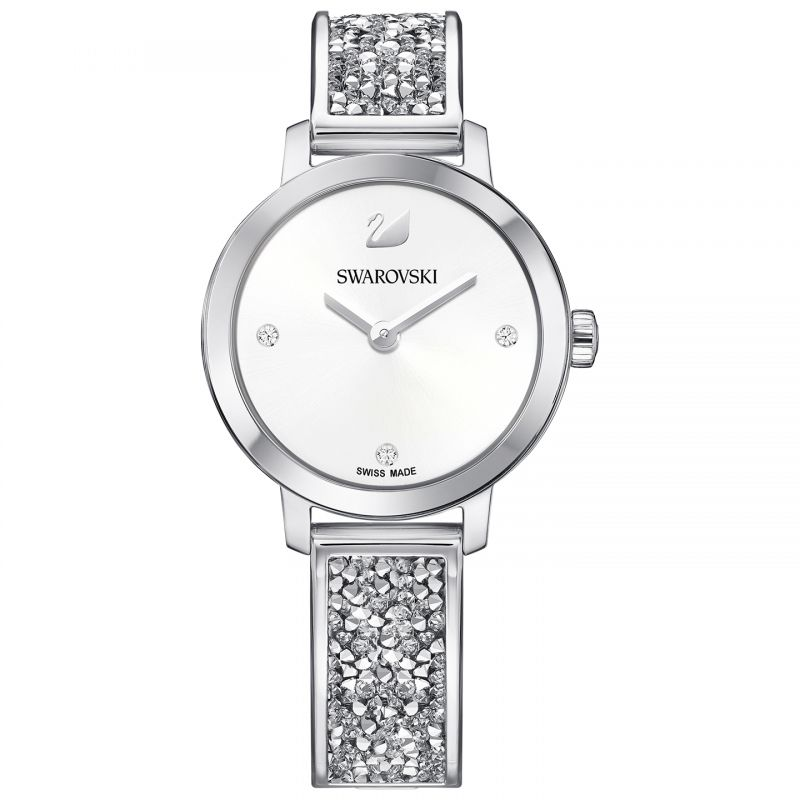 Ladies Swarovski Cosmic Rock Bangle Watch