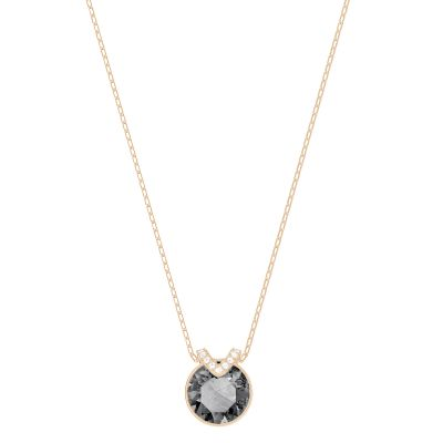 Ladies Swarovski Gold Plated Bella Necklace 5349962