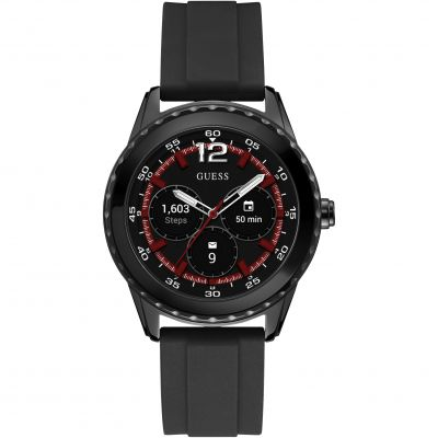 Guess Connect Android Wear Unisexuhr in Schwarz C1002M1