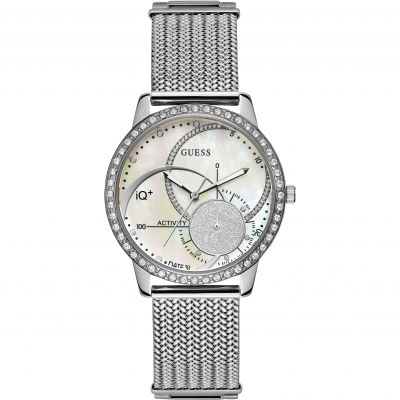 Ladies Guess IQ+ Hybrid Smartwatch Watch C2001L1