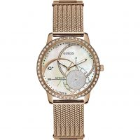 Ladies Guess IQ+ Hybrid Smartwatch Watch C2001L2