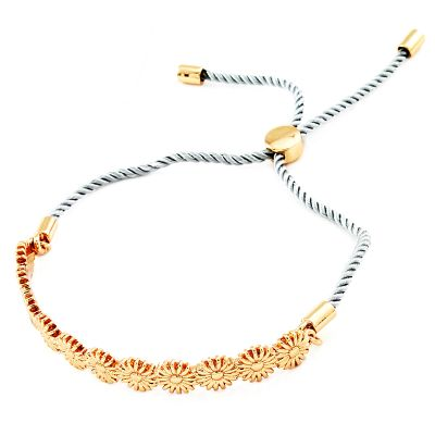 Ladies Fiorelli Gold Plated Slider Bracelet XB1378