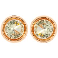Ladies Fiorelli Rose Gold Plated Stud Earrings XE4875