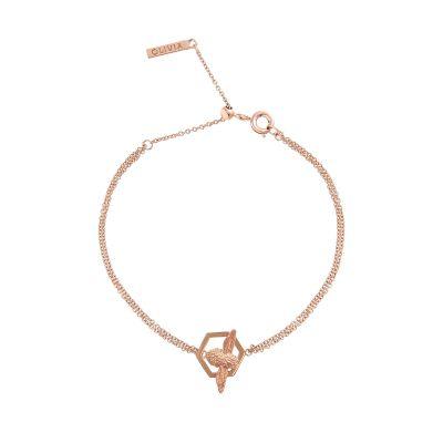 971c9ffc3 Olivia Burton Honeycomb Bee Chain Bracelet OBJ16AMB31. Olivia Burton  Jewellery