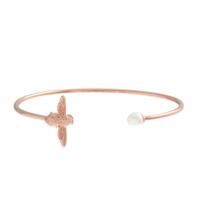 Olivia Burton Pearl Bee Bangle OBJ16AMB37