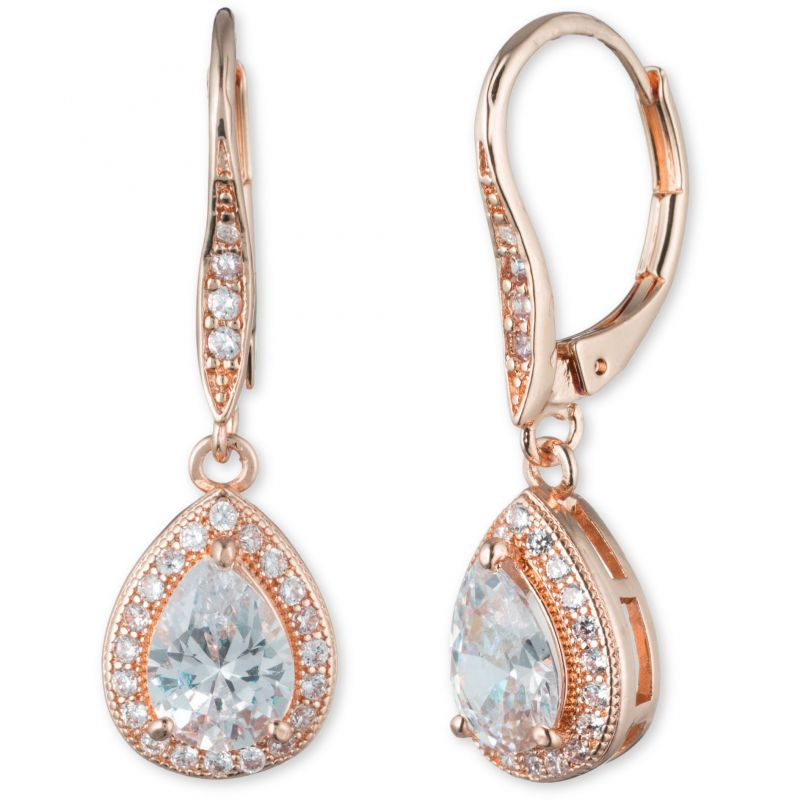 Anne Klein Jewellery  Pear Earrings
