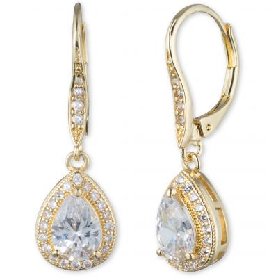 Anne Klein Dames Pear Curowire Earrings Basismetaal 60422583-887