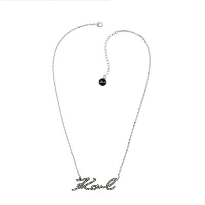 Karl Lagerfeld Dames Karl Necklace Verguld Zilver 5420511