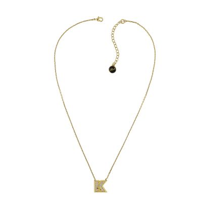 Karl Lagerfeld Dames K Kameo Necklace Verguld goud 5420531