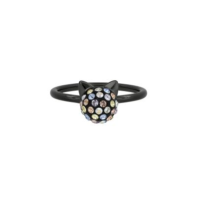Joyería para Mujer Karl Lagerfeld Jewellery Crystal Choupette Ring Size N 5420540