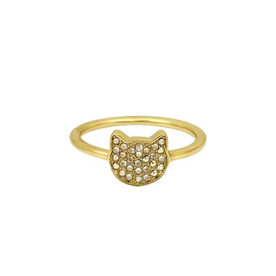 Joyería para Mujer Karl Lagerfeld Jewellery Choupette Ring Size P/Q 5420561
