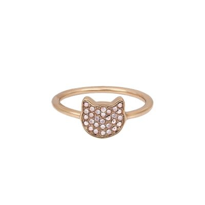 Joyería para Mujer Karl Lagerfeld Jewellery Choupette Ring Size P/Q 5420564