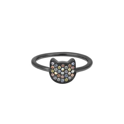 Joyería para Mujer Karl Lagerfeld Jewellery Choupette Ring Size P/Q 5420567