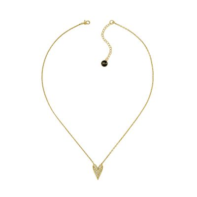 Karl Lagerfeld Pyramid Heart Necklace 5420592