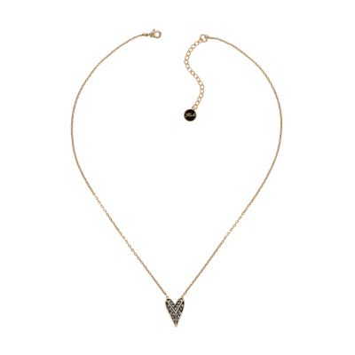 Karl Lagerfeld Pyramid Heart Necklace 5420593