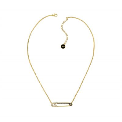 Karl Lagerfeld Dames Safety Pin Necklace Verguld goud 5420599