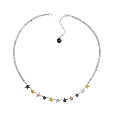 Biżuteria Karl Lagerfeld Jewellery Linear Multi Star Necklace 5420645