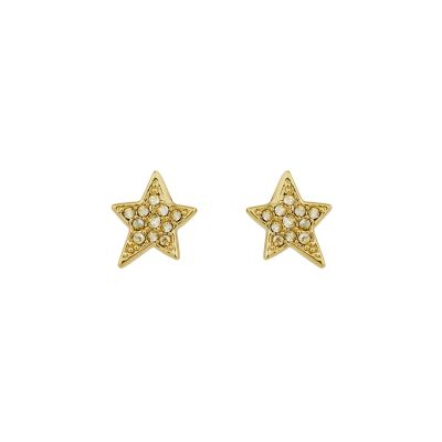 Karl Lagerfeld Dames Star Post Earrings Verguld goud 5420649