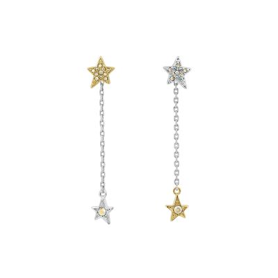 Karl Lagerfeld Star & Chain Earrings 5420653