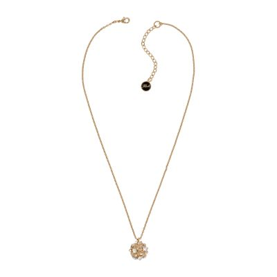 Karl Lagerfeld Dames Pyramid Cluster Sphere Necklace Verguld goud 5420670