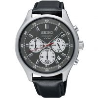 Mens Seiko Sports Chronograph Watch