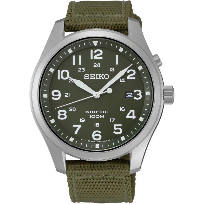 Mens Seiko Kinetic Kinetic Watch
