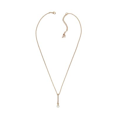 Adore Linear Pave & CZ Necklace 5422546
