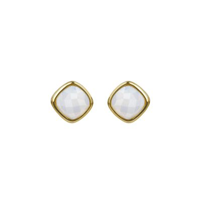 Adore Dames Cushion Stone Earrings Verguld goud 5419441