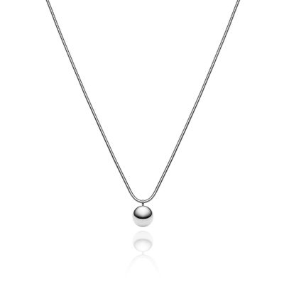 Ladies Abbott Lyon Silver Plated Sphere Necklace AL3359
