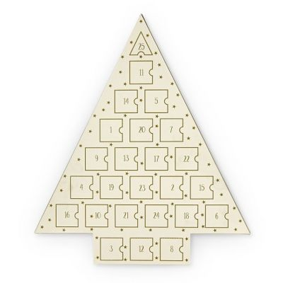 Bijoux Femme Johnny Loves Rosie Gold Star Jewellery Advent Calendar JLRCAL2