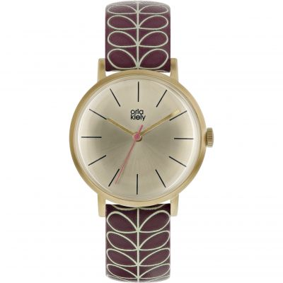 Ladies Orla Kiely Stem Watch OK2178
