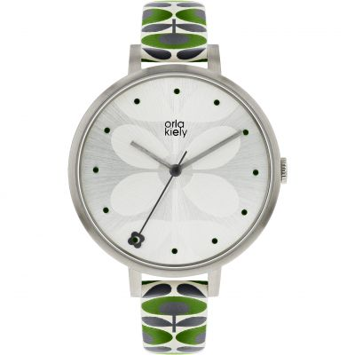 Ladies Orla Kiely Ivy Mesh Watch OK2191