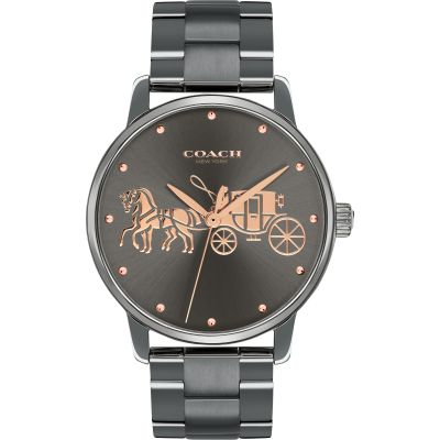 Coach Grand Grand Damenuhr in Grau 14502924