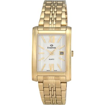EverSwiss Classic Herrenuhr in Gold 5744-GGS