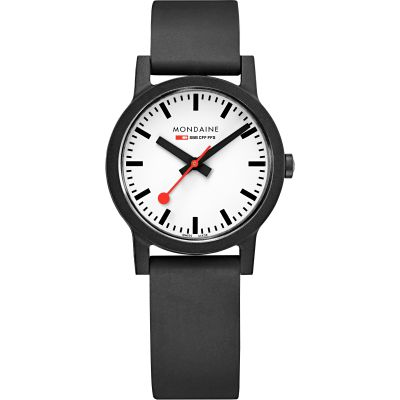 Mondaine Swiss Railways Essence 32mm Damklocka Svart MS1.32110.RB