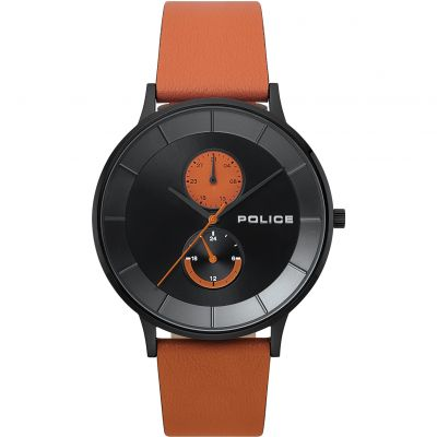 Police BERKELEY Herrenuhr in Orange 15402JSB/02